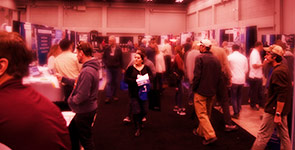 crowds at Build Expo